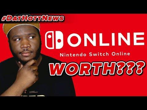 Nintendo Switch Online Details! Is It Worth It??? (Dat Hott News*)