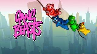 Niedźwiedź pływający jak rybka! Gang Beasts z Ekipą! #5 (w: Bladii, Admiros, Hadess, Mati)