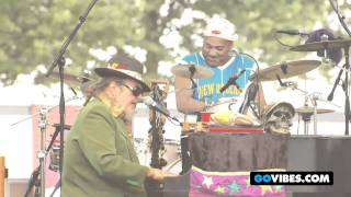 "Dr. John Performs ""Big Bass Drum (On A Mardi Gras Day)"" at Gathering of the Vibes 2011"