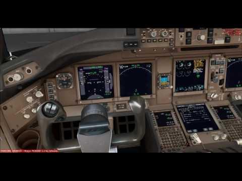 PMDG 777-2000LR Thai Airways Fly Narita RJAA To RJBB OSaka [full flight] 20 12 2016