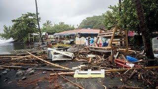 El huracan Maria a destruido Dominica Ministro pide Ayuda Puerto ri...