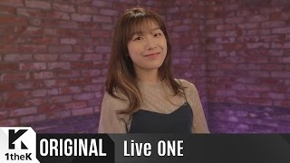 Live ONE(라이브원): Full Ver. CHEEZE(치즈)_Be There *English subtit...