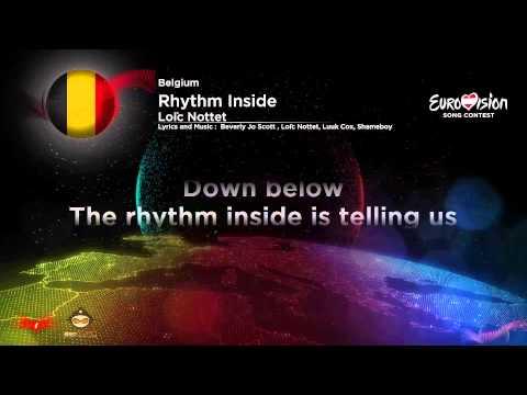 Loïc Nottet-Rhythm Inside (Belgium) Karaoke Version