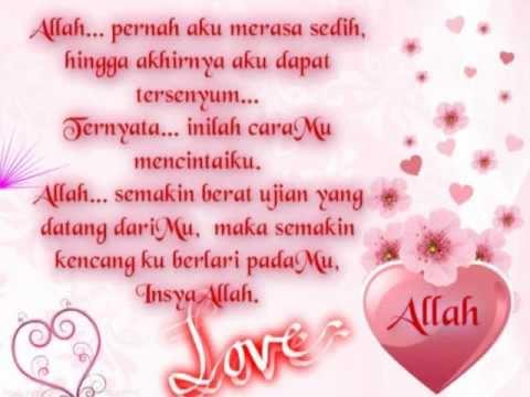 Puisi Islami Berbahagialah Engkau Dicintai Allah Youtube