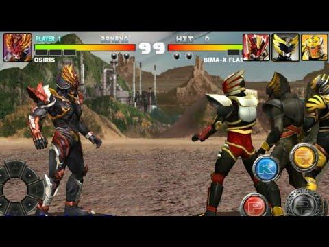 Osiris Melawan Satria Heroes + Movie Bima X Revenge of Darkness