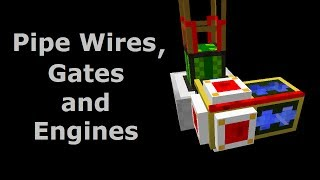 Using Pipe Wires to Stop Engines Overheating (Tekkit/Feed The Beast) - Minecraft In Minutes