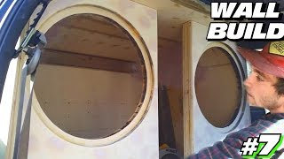 EXO's Subwoofer Wall Build #7 | Mounting SUB Baffles & How To Make DOUBLE LAYER Baffle After INSTALL