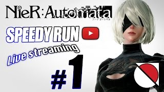 NieR: Automata SPEEDY RUN #1