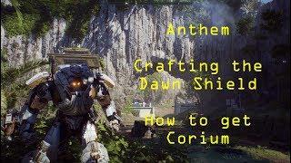 Crafting the Dawn Shield: Corium Titan Guide