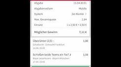 DFB Pokal 1/2 Finale/Wettschein /Tipico