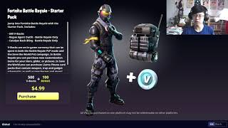 How to get Fortnite Starter Pack on PC