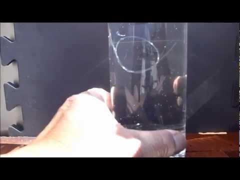 Mono VS FluoroCarbon - Simple Visibility Test