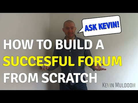 How to Build a Successful Forum from Scratch