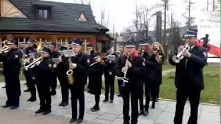 Orkiestra OSP Tenczyn w Zakopanem