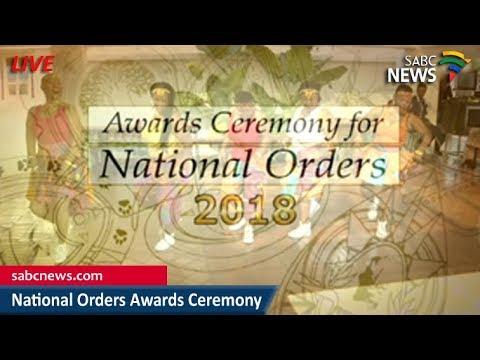 National Awards Ceremony, 28 April 2018