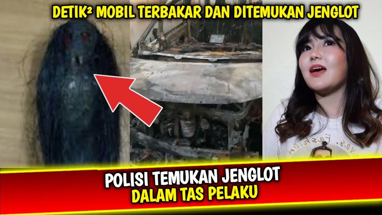 Detik Detik Mobil Via Vallen Terb4kar Polisi Temukan Tak Hanya Jenglot Tapi...