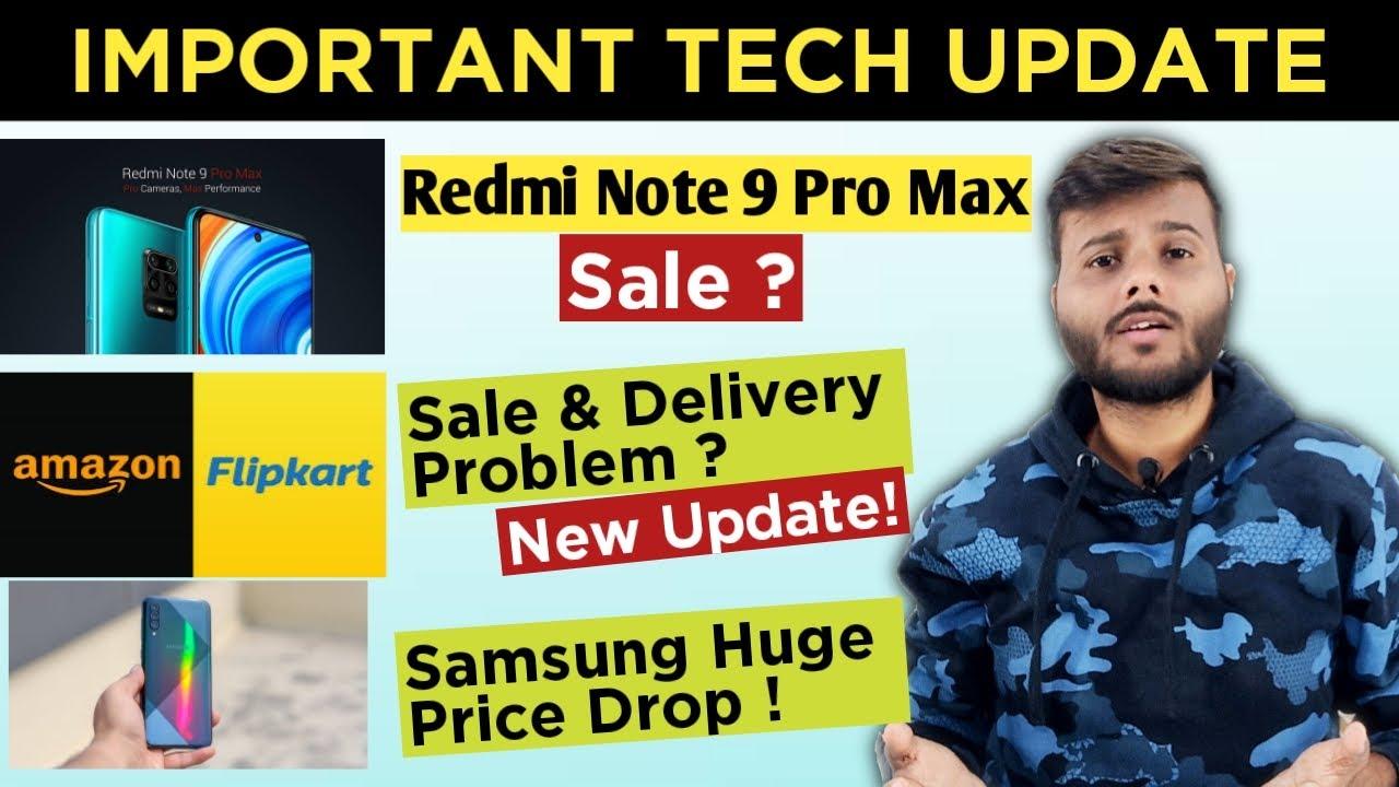 Flipkart Amazon Sale Problems Mi 10 5g India Launch Redmi Note 9 Pro Max Sale Youtube