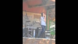 Nadine Myburgh singing