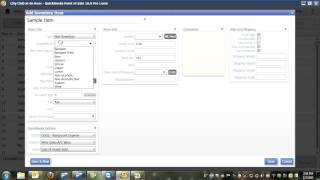 This video shows you how to add items quickbooks point of sale