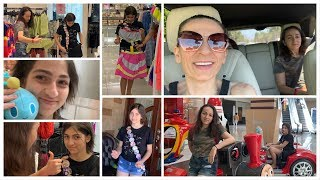 Girls Day Out - Shopping at The Mall - Heghineh Family Vlogs