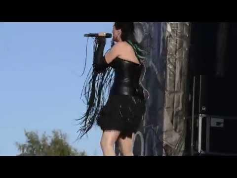 Within Temptation - Summertime Sadness Live@Sweden rock 2014