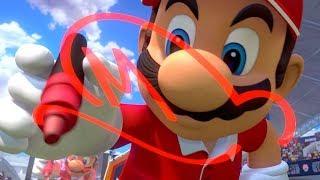 Mario Tennis Aces - Adventure Mode Walkthrough Finale - Final Boss Fight