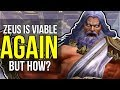 Zeus Returns To The SMITE Pro League! How Did He Bring The Thunder Back? SMITE Zeus Build