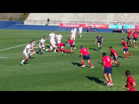 2/17/18 USA vs Chile.  America's Rugby Championship