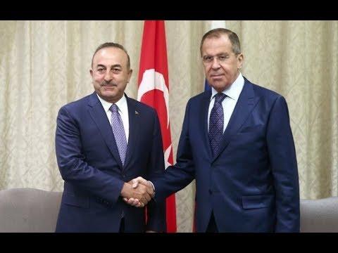 Заявление для прессы по итогам российско-турецких переговоров. Полное видео