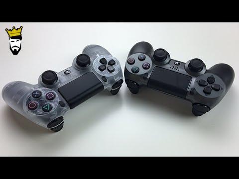 Lohnenswert? Crystal & Steel Black - PS4 - DualShock 4 Wireless Controller - Dr. UnboxKing - Deutsch