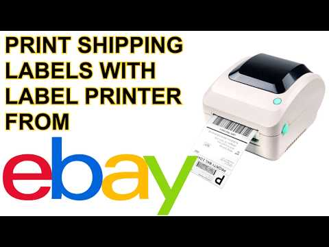 How to Print 4x6 Ebay com Shipping Labels on Windows UPDATED 2019