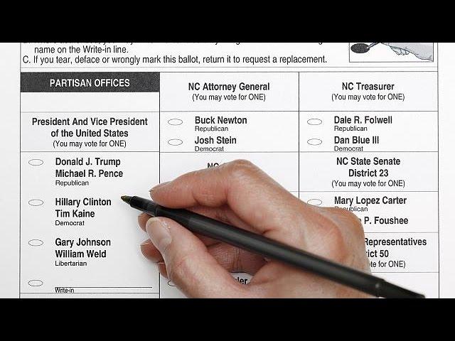 В США началось досрочное голосование на выборах президента