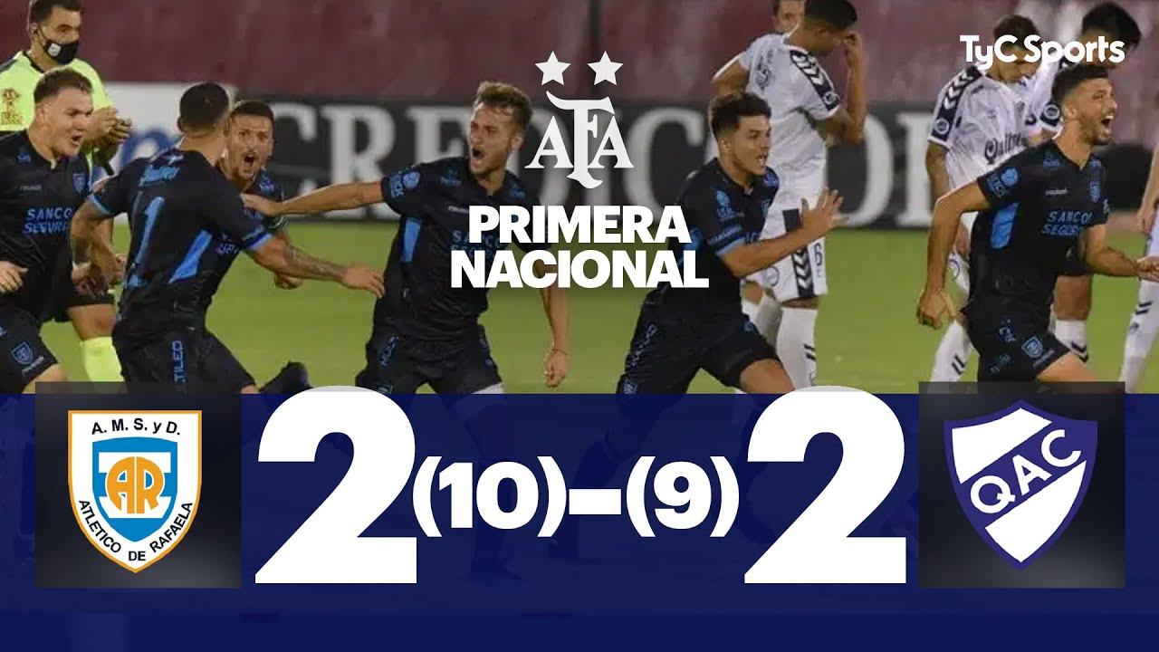 Atlético de Rafaela 2 (10) - 2 (9) Quilmes | Primera Nacional