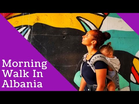 Full-time Traveling Single Mom: Morning Walk In Albania