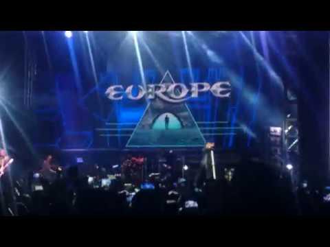 Europe - The Final Countdown live in Volcano Rock Festival 2018 Boyolali