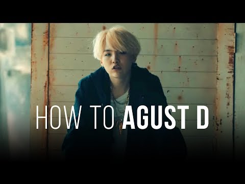 How to 'Agust D' (Easy Lyrics + Slow Mode)