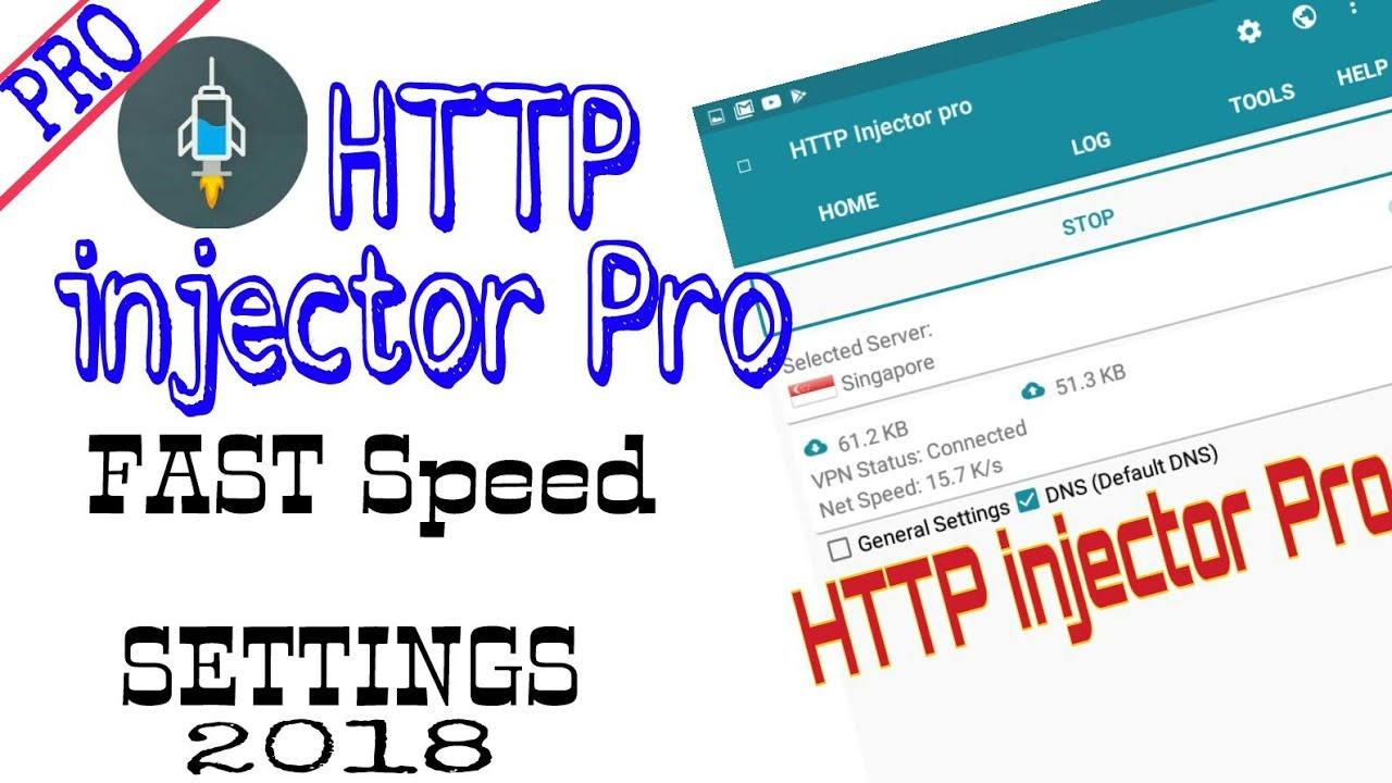PRO HTTP injector 2018 Settings FASTEST CONNECTION