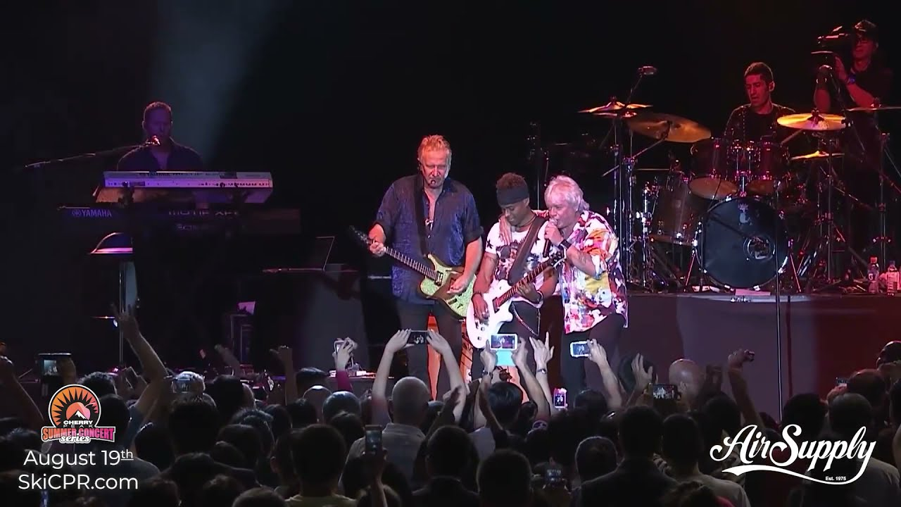 Air Supply Coming to Cache Valley - Venue Change