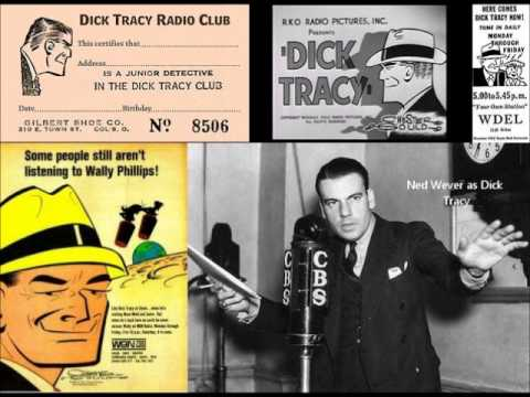 Dick Tracy Radio - The Purple Rider (Full 9 Episode Arc)