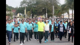 Sultan Nazrin joins thousands in birthday run