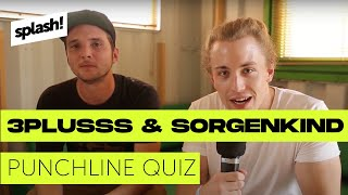 WHO DAT?! – 3Plusss & Sorgenkind im Punchline-Quiz (splash! Mag TV)