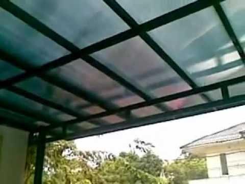 kanopi baja ringan di cat finishing youtube