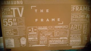 Samsung - The Frame TV - Unboxing