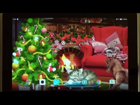 Christmas Eve Live Wallpaper For Android Phones And Tablets