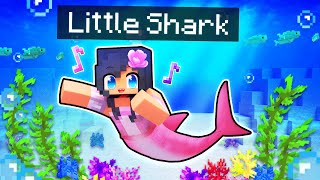 Playing as Little SHARK Girl in Minecraft!