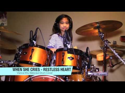 When She Cries - Restless Heart - Vianca Khu Belocaul Drum Cover