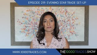 Episode 219: Evening Star Trade Setup in Forex- Best Candlestick Patterns - Trading Strategy