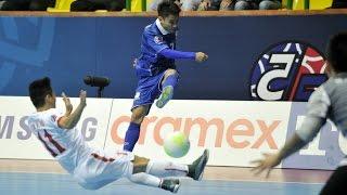 THAILAND vs VIETNAM: AFC Futsal Championship 2016 (Group Stage)