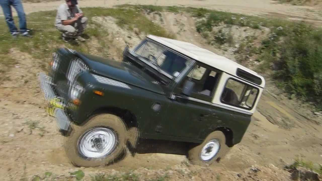 land rover series iii 88 off road training with defender n gele off road service germany. Black Bedroom Furniture Sets. Home Design Ideas