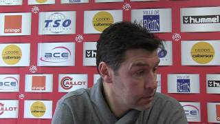 Point presse avant match Ajaccio-Stade de Reims